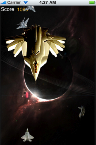 Screenshot iSpace Fighter Flight